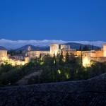 Alhambra. Vista general desde el Albaicín.