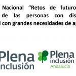 """I Congreso Nacional """"Retos De Futuro Para La Atención De Las Personas Con Discapacidad Intelectual Con Grandes Necesidades De Apoyo"""""""