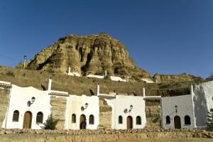 Alojamientos turísticos en cuevas en Guadix.
